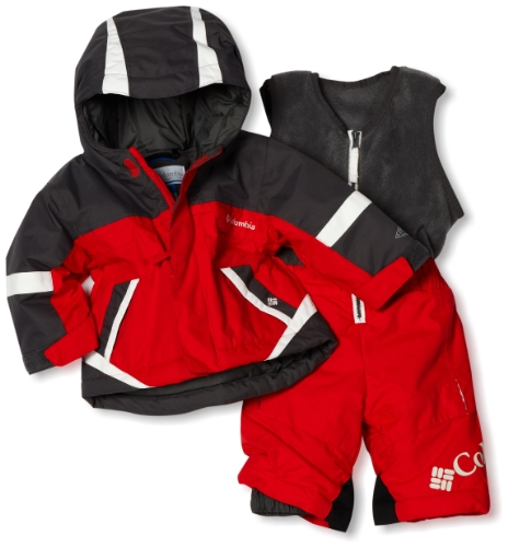 Columbia Baby-Boys Infant Buga Set, Hot Rod, 18 Months