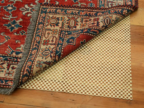 Premium-Lock Rug Pad 5' x 8' - Provides Extra Cushion, For All Hard Surfaces, Heavier and Thicker than Most Rug Pads (Custom Size