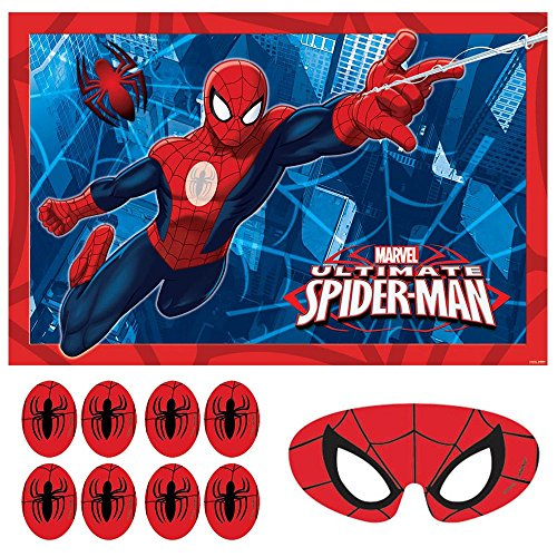 Spiderman Party Supplies Game (Each)