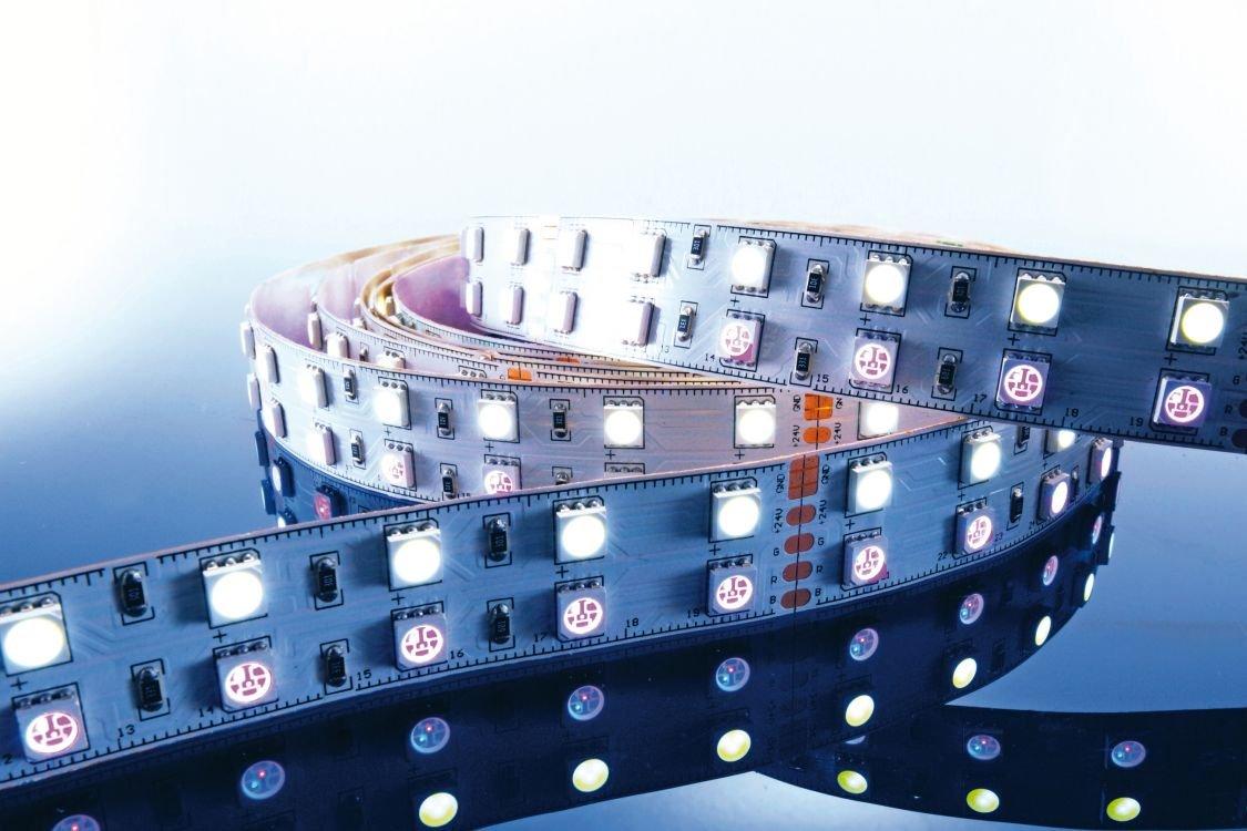 KapegoLED Flexibler LED Stripe, 5050, SMD, RGB und, 24 V DC, 86,40 W, kaltweiß 840061
