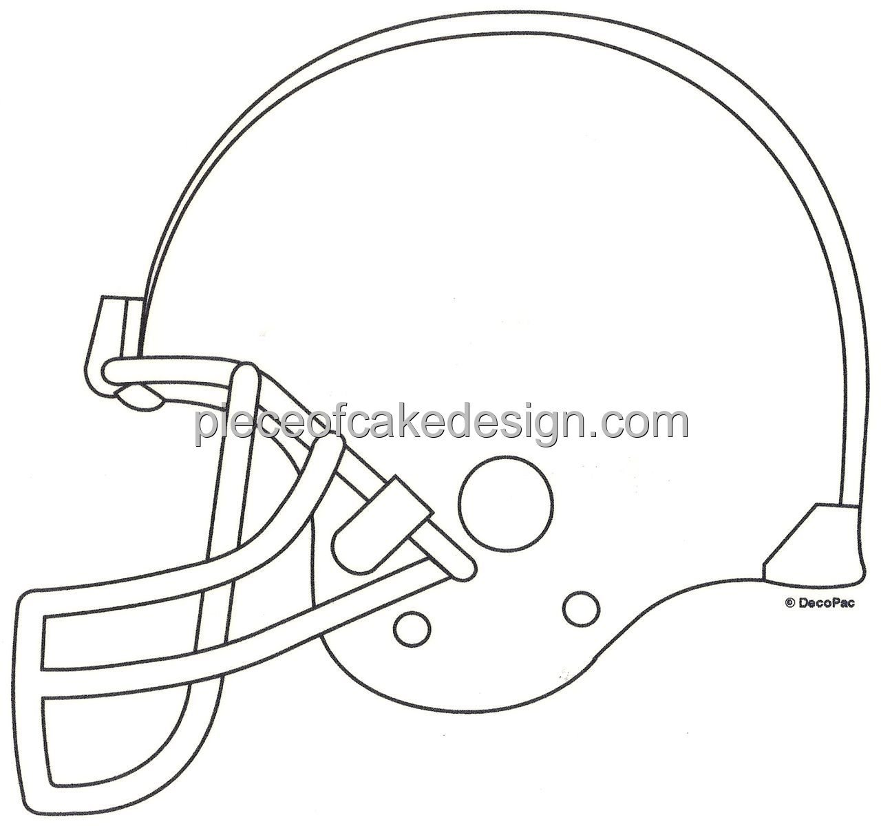 football helmet coloring pages - photo#32
