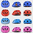 Ezyoutdoor Kids Safty Helmet Child Balance Car Protective Gear Cycling Skating Roller Skating Skateboard Bike Bicycle Helmets for 4-9 Years Old Children