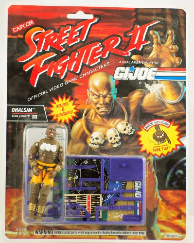 Buy Low Price Hasbro G.I. Joe Street Fighter II Dhalsim Yoga Fighter 3 3/4″ Action Figure (B001FOOFJ2)