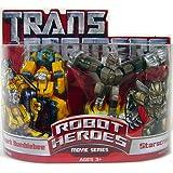 Transformers Movie Hasbro Robot Heroes Figure 2-Pack Allspark Bumblebee & Starscream