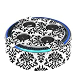 Fintie Protective Case for Amazon Echo Dot (Fits All-New Echo Dot 2nd Generation only) - Premium Vegan Leather Cover Sleeve Skins, Versailles