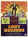 lost horizon poster movie d 11x17 ronald colman jane wyatt h b  warner sam