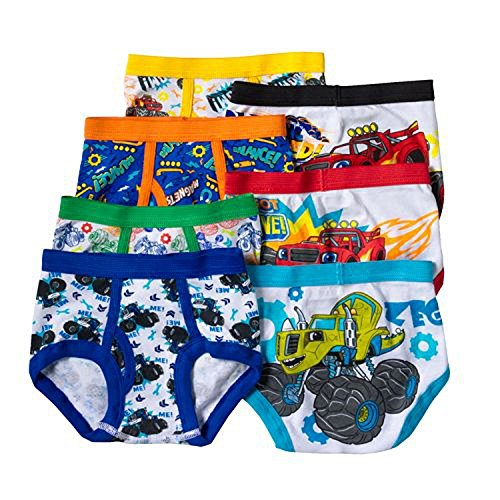 Blaze and the Monster Machines 7-pk. Briefs - Toddler Boy (2T-3T) (Monster Trucks For Toddlers compare prices)