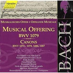 Kanon zu zwei Stimmen, BWV 1086