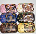 Cat Image Cute Travel Contact Lens Case Eye Care Kit Holder Box OFFICE-209