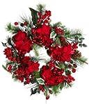 Nearly Natural 4661 Hydrangea Wreath...