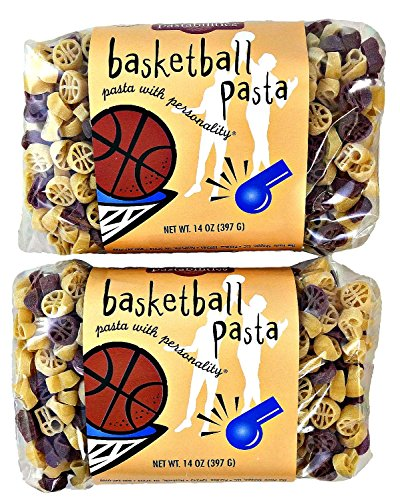 Basketball and Whistles Shaped Pasta - 2 Pack (Basketball Pasta compare prices)