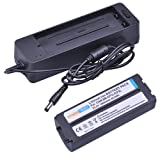 PowerTrust 1x NB-CP2L CP2L CP1L Rechargeable Battery and Charger for Canon SELPHY Photo Printers CP100 CP200 CP220 CP300 CP330 CP400 CP510 CP600 CP710 CP730 CP770 CP780 CP790 CP800 CP900 CP910 CP1200