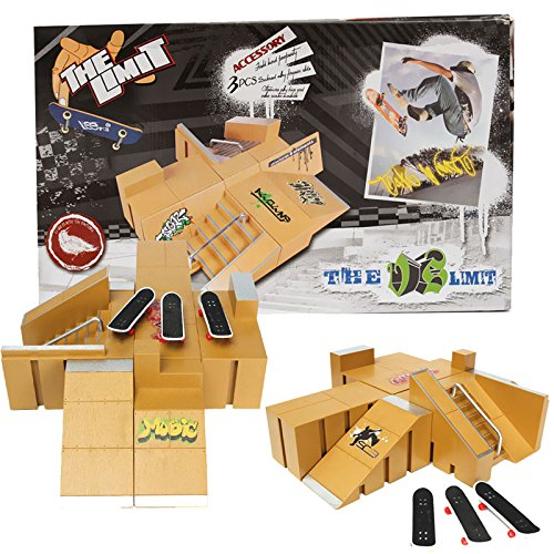 Skate Park Ramp Parts for Tech Deck Fingerboard Finger Board Ultimate Parks 92A (Aroma Ramp compare prices)