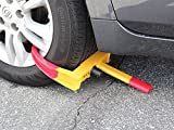 TMS® Wheel Lock Clamp Boot Tire Claw Auto Car Truck Rv Boat Trailer Anti-theft Towing thumbnail