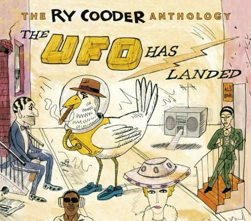 The Ry Cooder Anthology: The UFO Has Landed (2CD) (Can Landed compare prices)