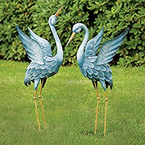 Amazon.com : Bits and Pieces - Japanese Blue Heron Metal