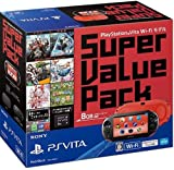 PlayStation Vita Super Value Pack Wi-Fiモデル レッド/ブラック