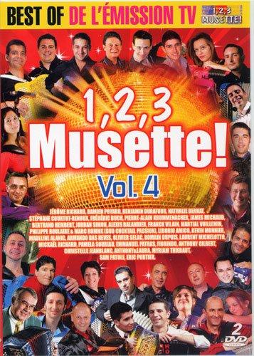 Double DVD ACCORDEON 1, 2, 3 Musette Vol.04