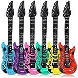 12 x Luftgitarre Luft Gitarre Luftgitarren Aufblasbare