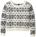 Jessica Simpson Big Girls Feather Cropped Popover Sweater