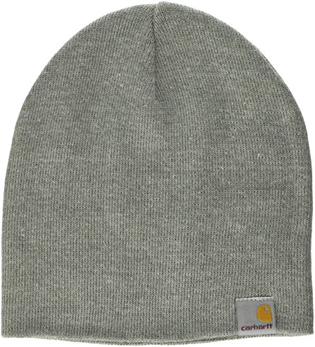 carhartt-sport-beanie-chapeau-fedora-mixte-gris-grey-heather-taille-unique-taille-fabricant-taglia-u