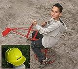 """Original Metall Sandbagger Sitzbagger """"Kindergarten Qualiät"""""""