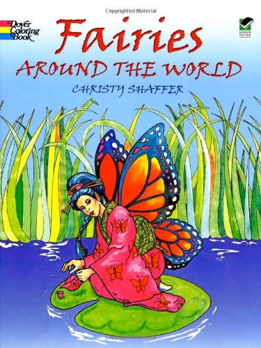 Fairies Around the World (Dover Coloring Books)