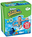 Ba�adores desechables HUGGIES LITTLE SWIMMERS Talla 3-4 P20