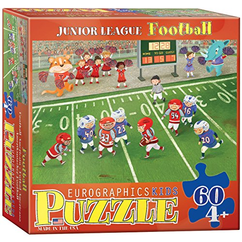 EuroGraphics Football Junior League 60 Piece Puzzle - 1