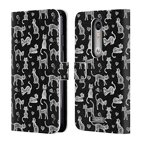official-micklyn-le-feuvre-teachers-pet-chalkboard-cats-animals-leather-book-wallet-case-cover-for-d