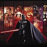 Printhook Star Wars Anthology:Darth Vader Movie Poster- A3 Size Poster Art