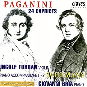 Niccol� Paganini: 24 Caprices, Op. 1