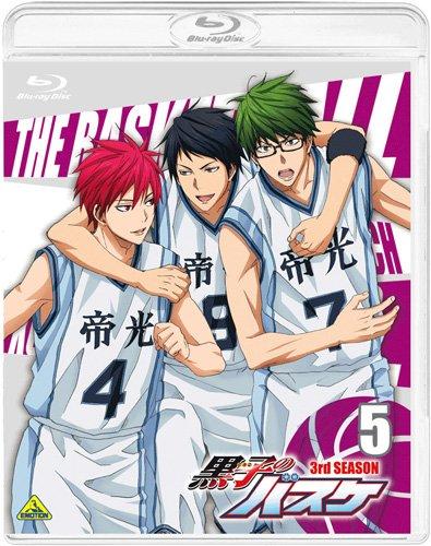 黒子のバスケ 3rd SEASON 5 [Blu-ray]