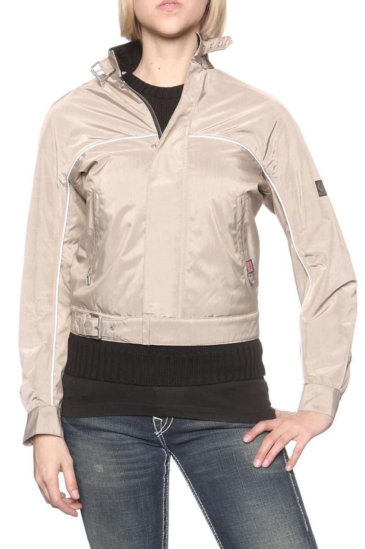 Belstaff Damen Jacke Blouson-Jacke SABOTEUR DE LUXE, Farbe: Beige kaufen