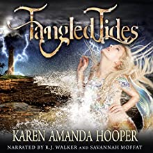 Tangled Tides: Sea Monster Memoirs Audiobook by Karen Amanda Hooper Narrated by RJ Walker, Savannah Moffat
