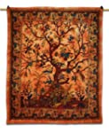 Tree of Life Tapestry Wall Art Hangin...