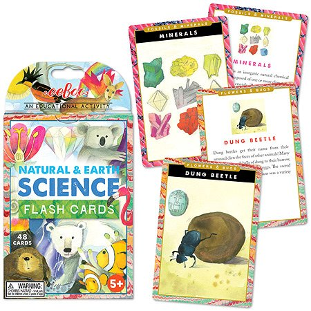 eeBoo Flash Cards, Natural Earth and Science - 1