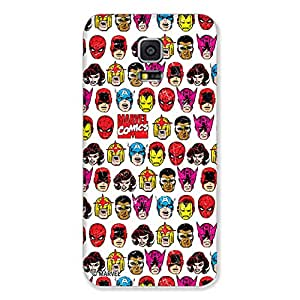 Marvel Civil War PBMARCOMSAS50115 Avengers All Cast Back Cover for Samsung Galaxy S5 (Multicolor)