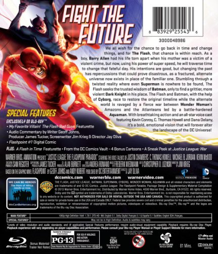 Justice League: The Flashpoint Paradox [Blu-ray] (2013)