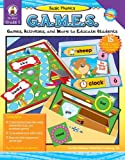 img - for Basic Phonics G.A.M.E.S, Grade 2: Games, Activities, and More to Educate Students by Diffily Deborah Sassman Charlotte (2007-01-01) Paperback book / textbook / text book