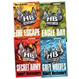 Robert Muchamore Henderson's Boys Pack, 4 books, RRP £27.96 (The Escape; Eagle Day; Secret Army; Grey Wolves).