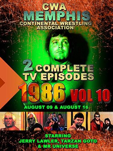 CWA Memphis Wrestling 2 Complete TV Episodes 1986 Vol 10