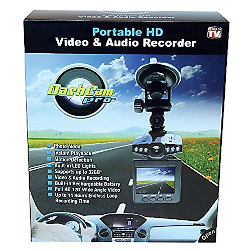 DashCam Pro - The Personal Security Camera For Your Car!