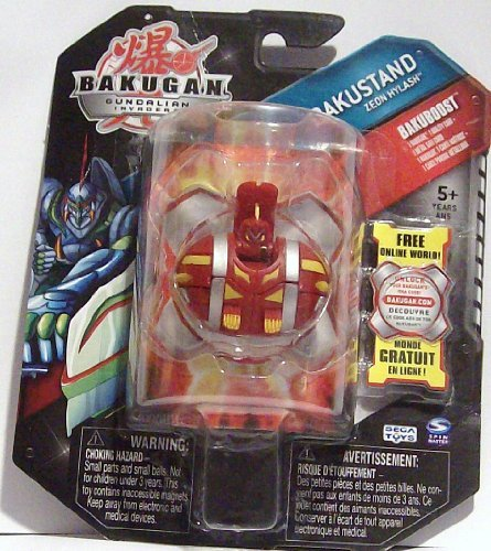 Bakugan Bakustand ZEON HYLASH RED/PYRUS {NEW IN SEALED PACKAGE} - 1