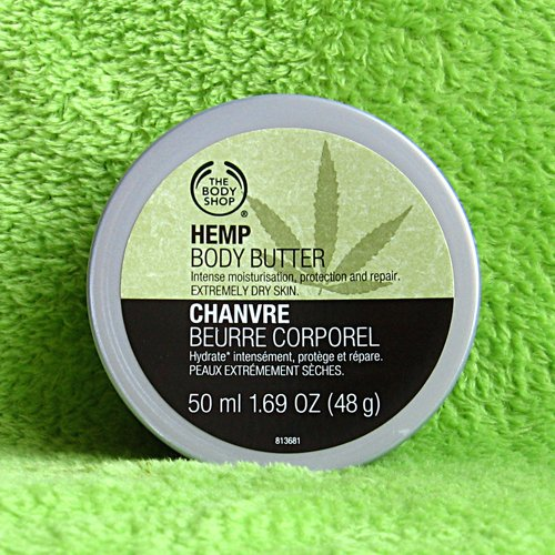 Body Shop Hemp Body Butter 1.69 Oz.