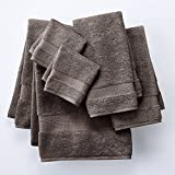 Apt. 9 Highly Absorbent 6-pc. Solid Bath Towel Set (Gray)