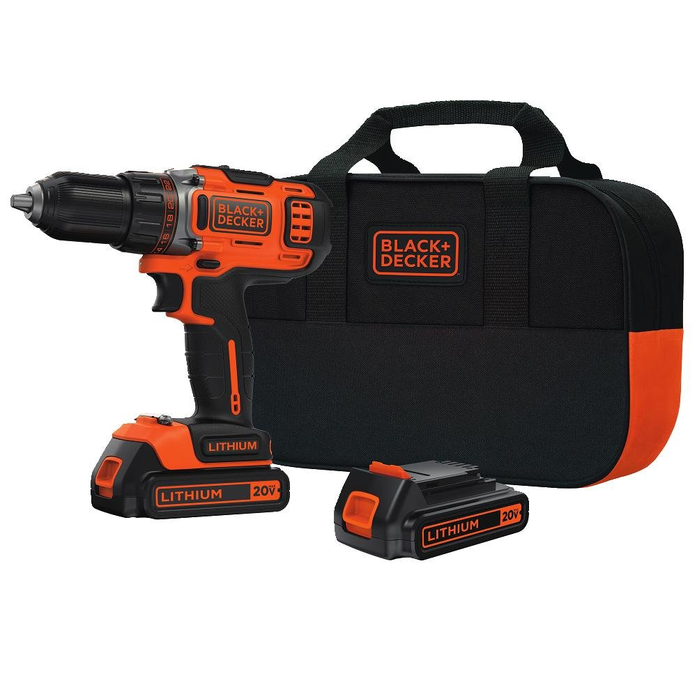 Black & Decker BDCDHP220SB-2 (The Drill with 24 Clutch Positions)