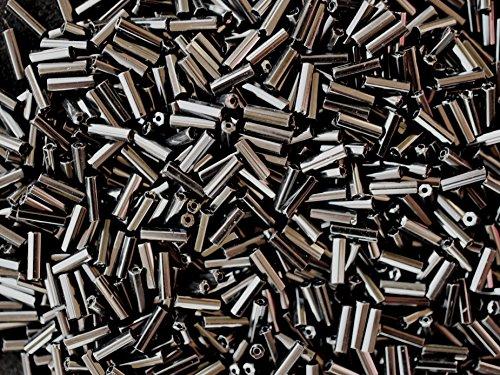 20gr-tcheque-preciosa-perles-de-verre-bugle-le-profil-hexagonal-avec-trou-rond-taille-70x21-mm-jet-b