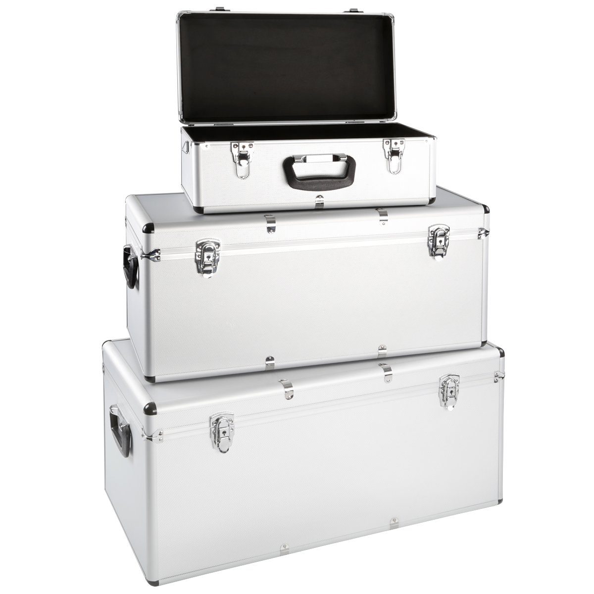 3er Set Alu Boxen Alukiste Werkzeugkiste Transportbox Lagerbox Lagerkiste Abschließbar  BaumarktKritiken und weitere Informationen