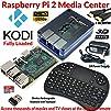 Raspberry Pi 2 Based  Extreme Xbmc Kodi Media Center  Blue